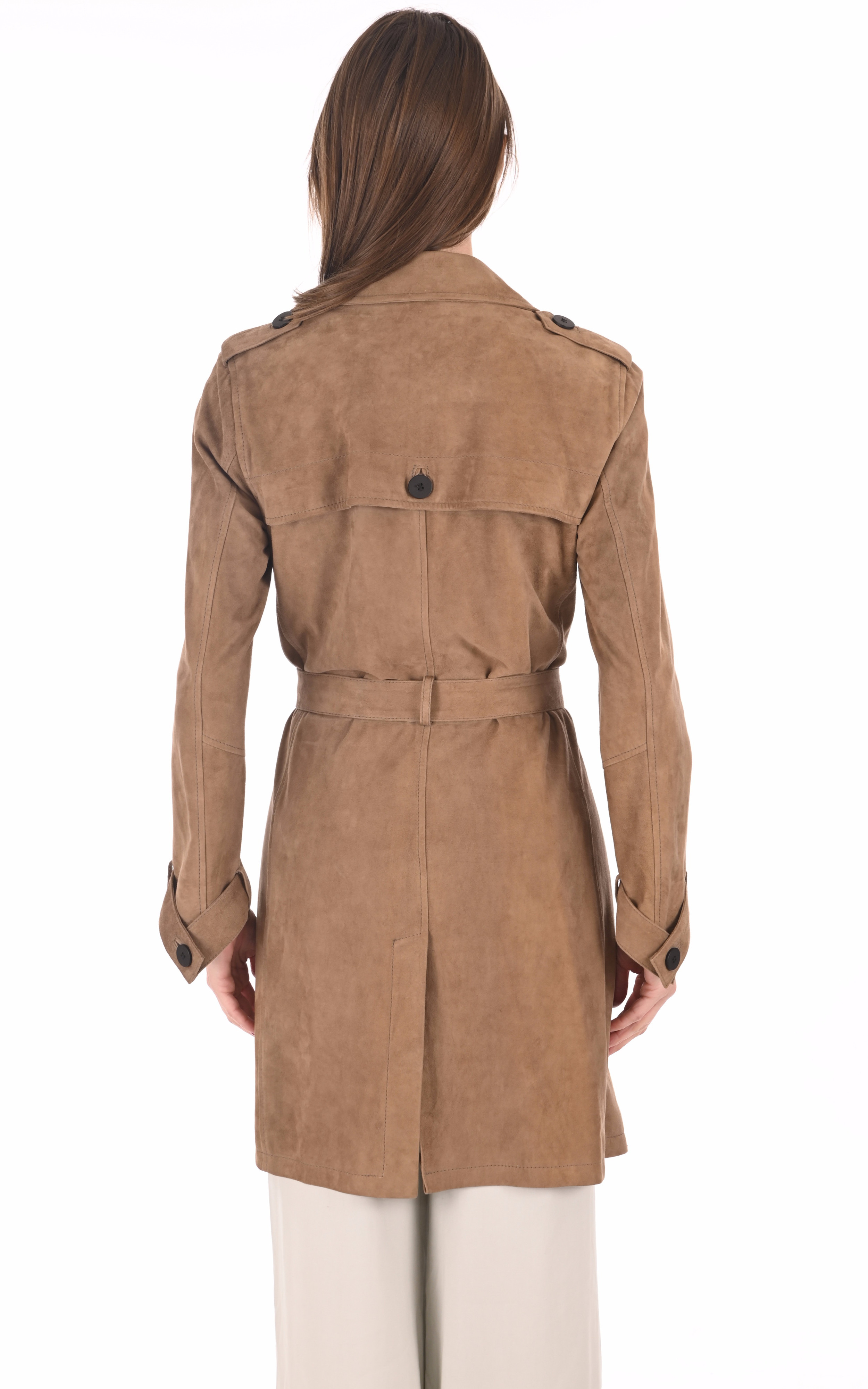 Trench velours sable La Canadienne