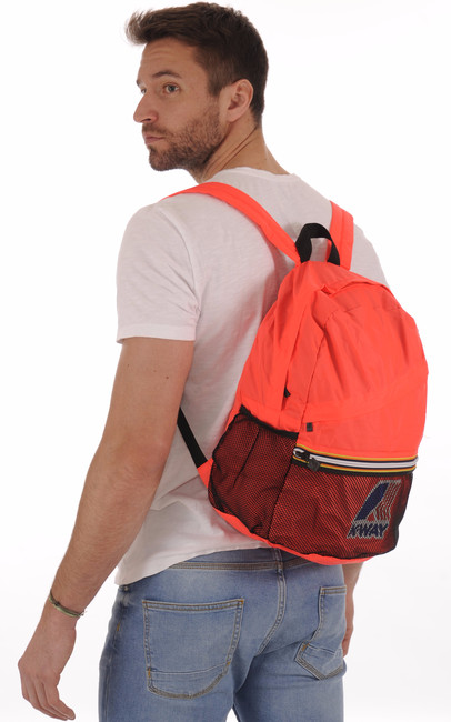 Sac LE VRAI FRANCOIS 3.0 Red Fluo K-Way