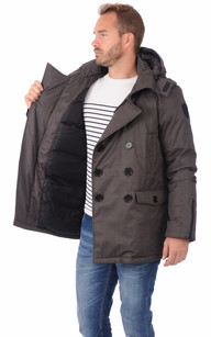Parka Kato Steel Grey