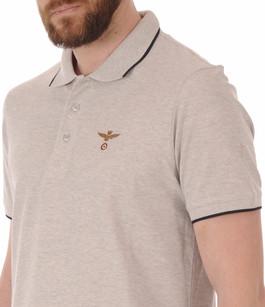 Polo Gris Logo Aero Aeronautica Militare