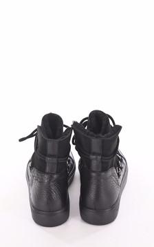Boots mouton velours noir