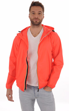 Le Vrai CLAUDE 3.0 Coupe-Vent Red Fluo1