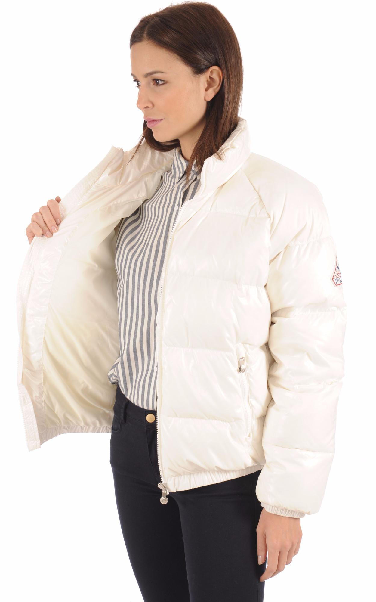 Doudoune Vintage Mythic Jacket Blanc cassé Pyrenex