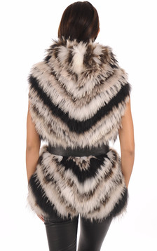 Gilet en raccoon