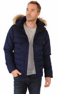 Parka The Chateau Navy Canada Goose La Canadienne