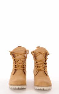 Boots Cuir & Mouton Camel1