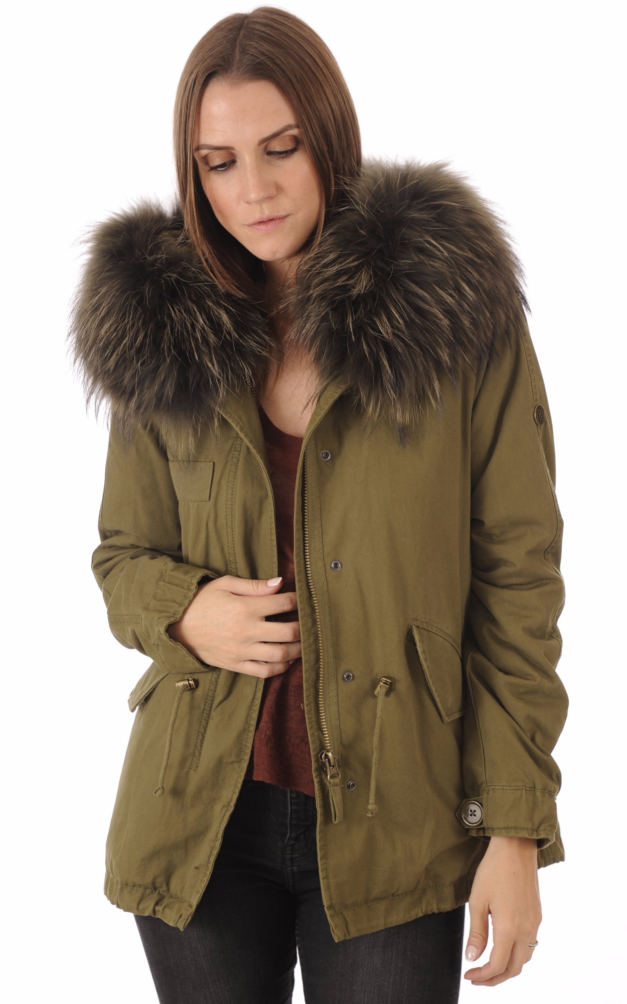 Parka militaire femme hiver