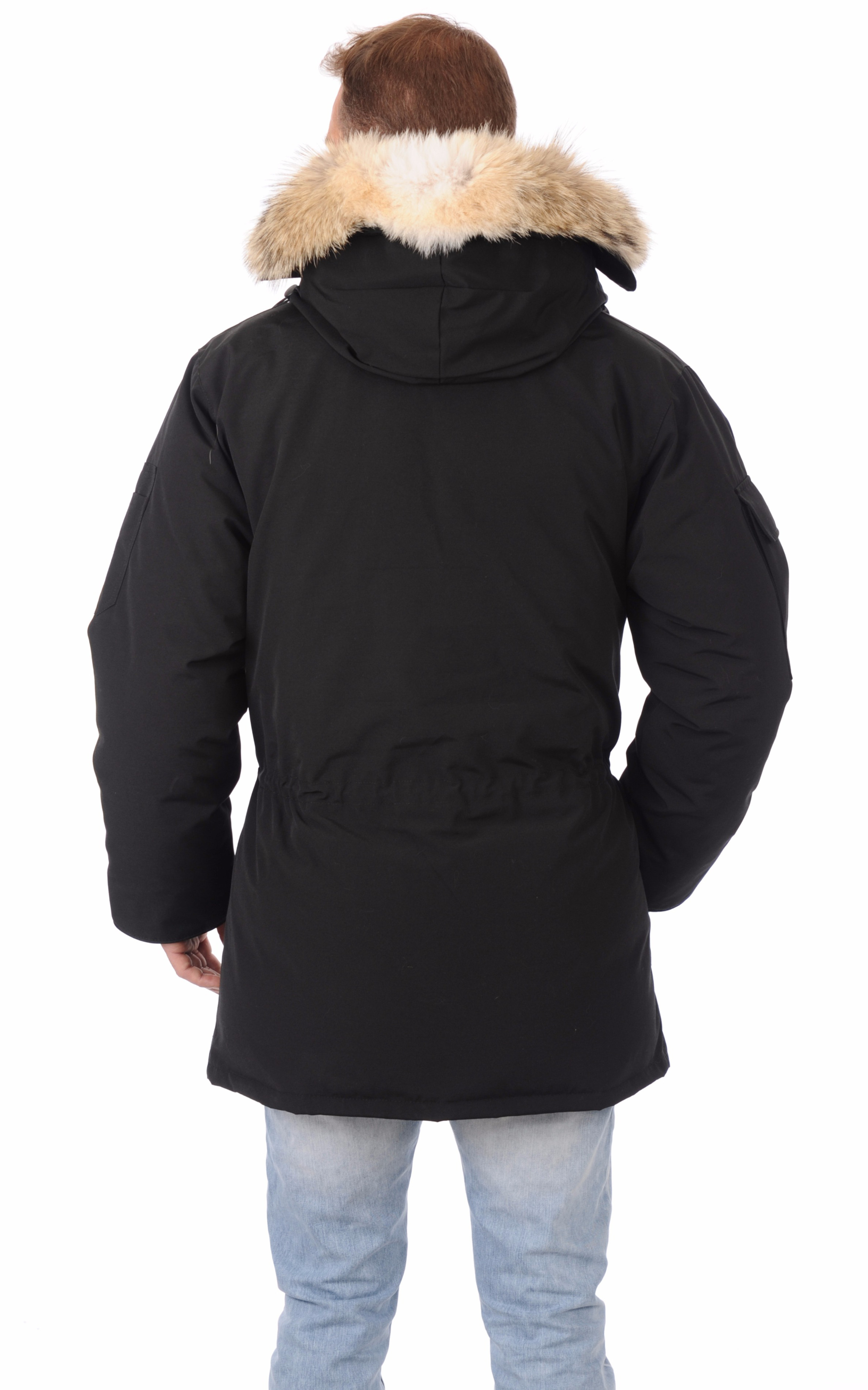 Parka Expedition noire Canada Goose