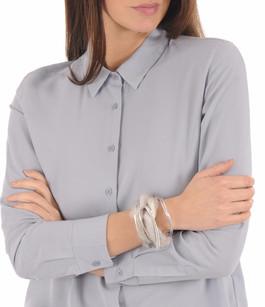 Bracelet Fourrure Vison  gris Tsanikidis