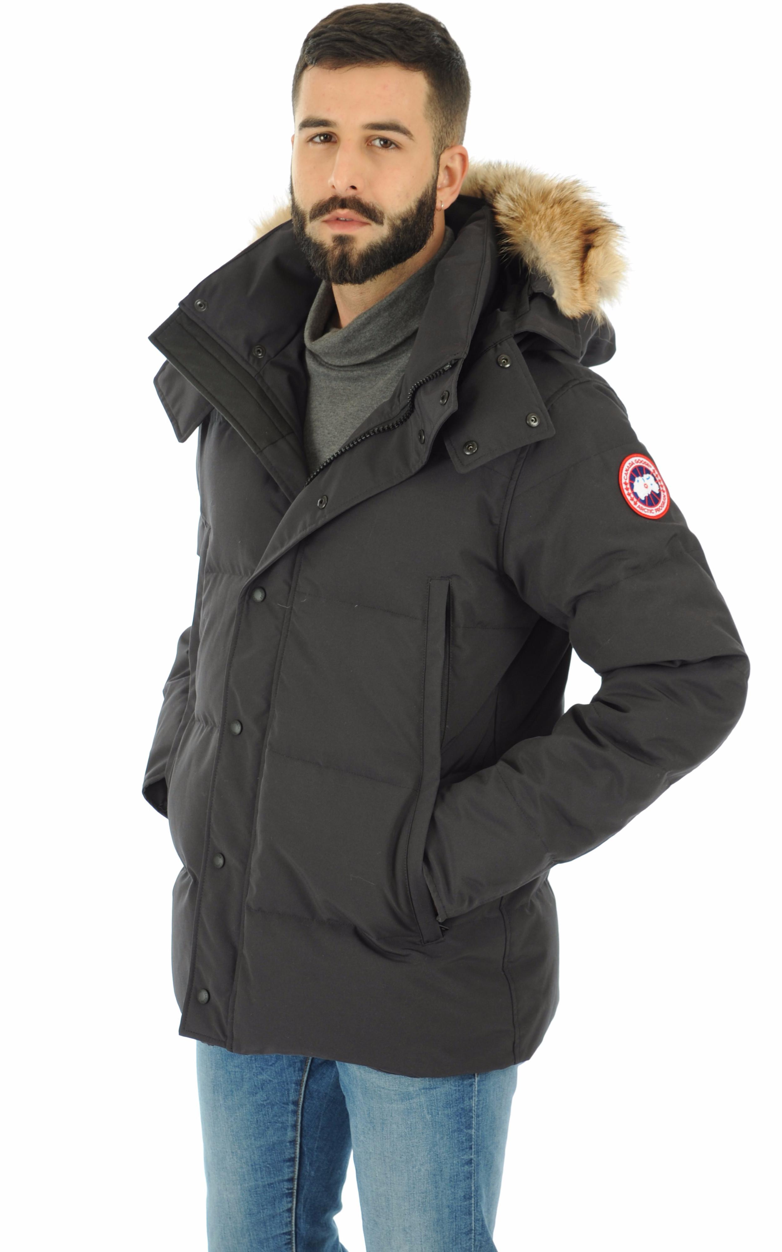 Parka Wyndham navy Canada Goose