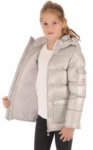 Doudoune Authentic Jacket Shiny Girl Metallic