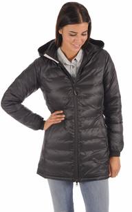 Parka Camp Hooded Jacket Noire