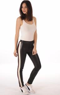 Legging Cuir Femme Sport-Chic