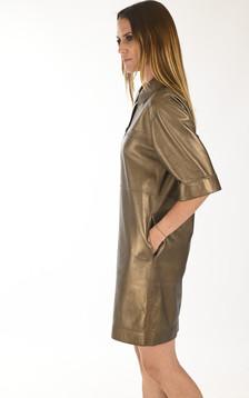 Robe chemise Caracas bronze