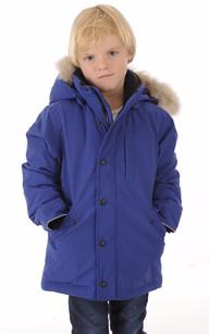 Parka Logan Enfant Bleu Pacifique1