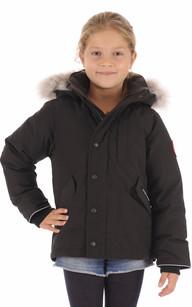 Parka Enfant LOGAN Noir Canada Goose