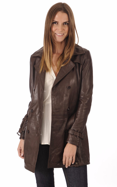 94ced3dc5ad51 Rose Garden Femme | Blouson cuir, veste en cuir Rose Garden - La ...