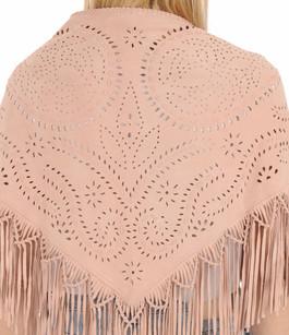 Etole Agneau Velours Rose Poudré Treasures Design