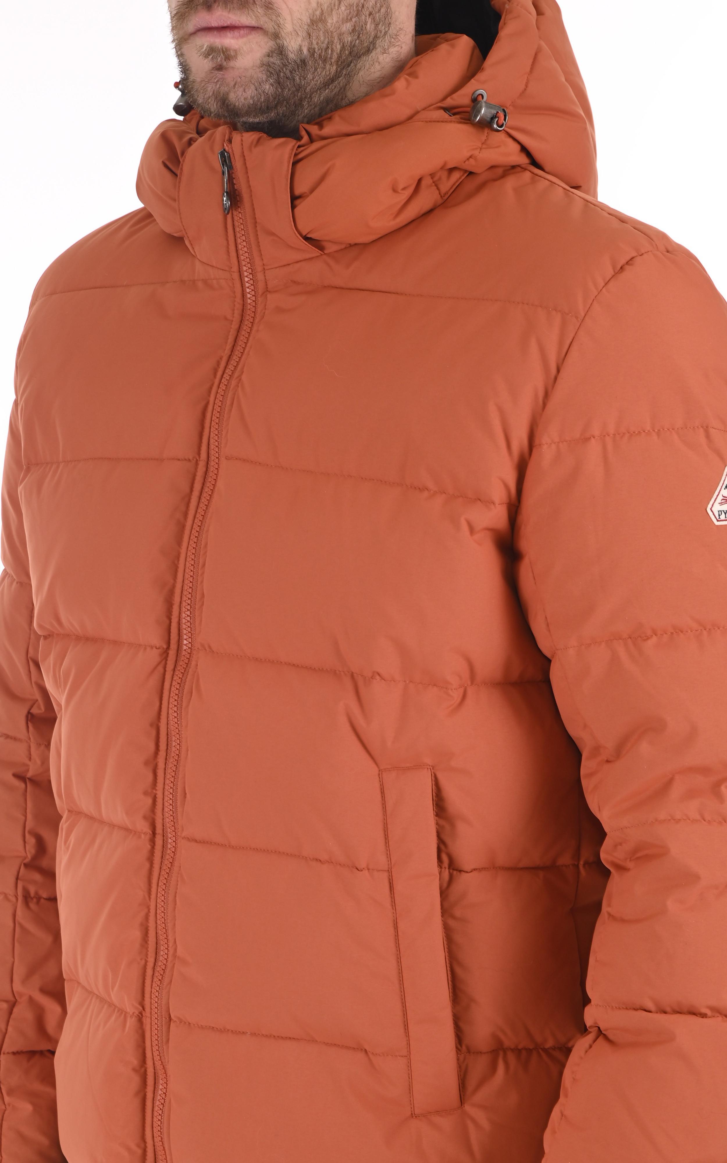 Doudoune Spoutnic orange rust Pyrenex