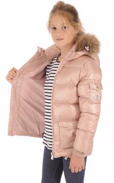Doudoune Authentic Jacket Shiny Girl Rose