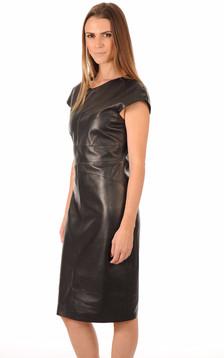 Robe Cuir Noir