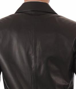 Blazer Cuir Noir pour Homme La Canadienne