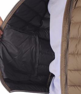 Doudoune Textile Homme Taupe Colmar