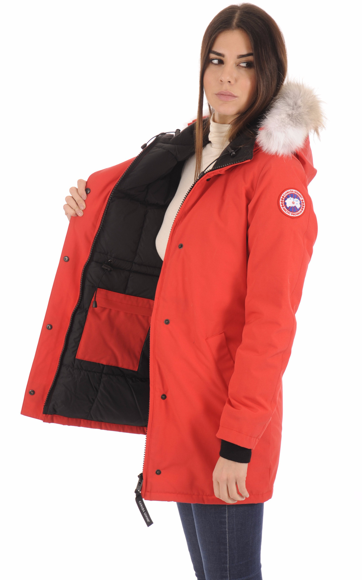 Parka Doudoune La Goose Canada Red Victoria Canadienne BBqaTUg 5d59ec562a77