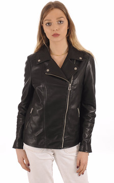 Blouson Femme Breda noir confortable1