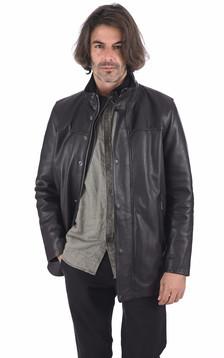 Surveste confortable vachette noir