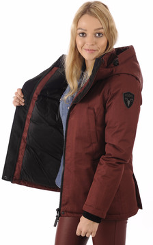 Parka Lindsay Bordeaux