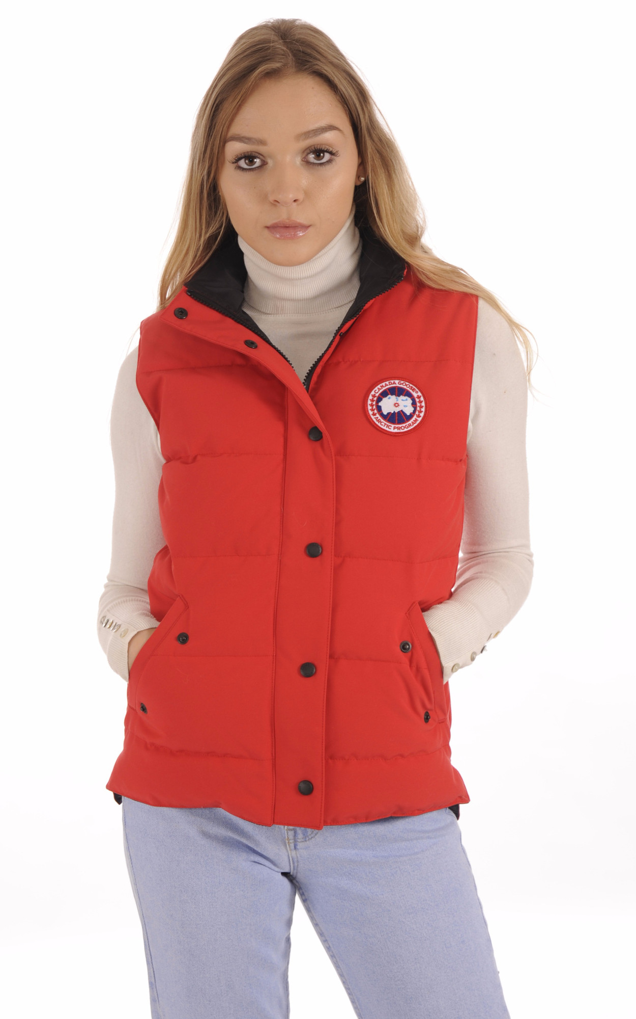 Gilet Femme Freestyle Red1