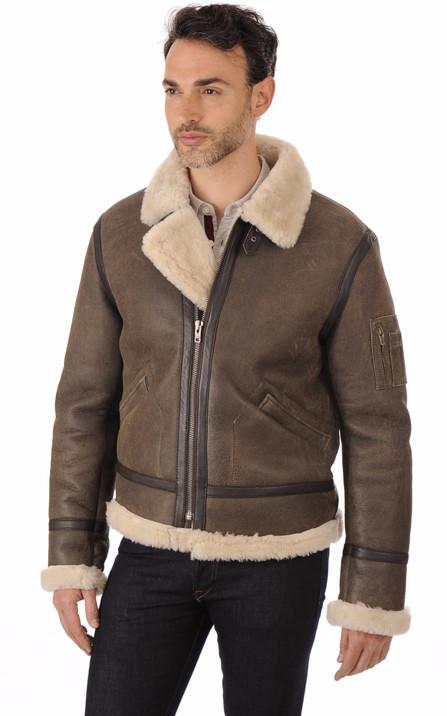Serge Pariente Homme   Blouson cuir, veste en cuir Serge Pariente 56e5c3a8f8b
