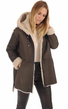 Manteau peau lainée Eden old cuir1