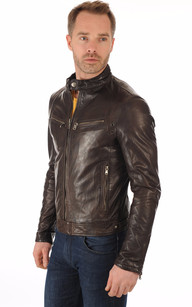Blouson Dustin Marron1