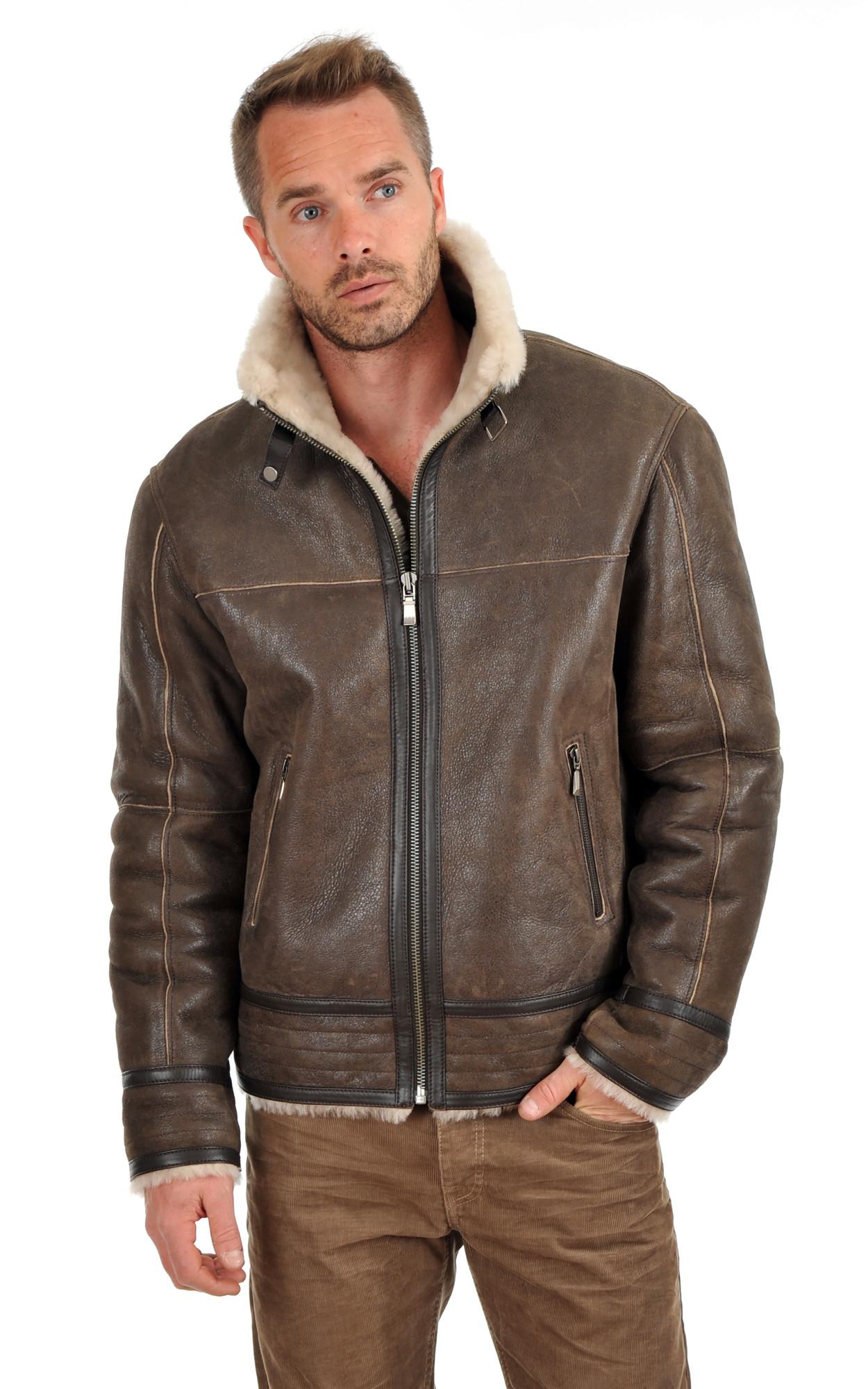 manteau en cuir h m homme manteaux populaires et branch s en france