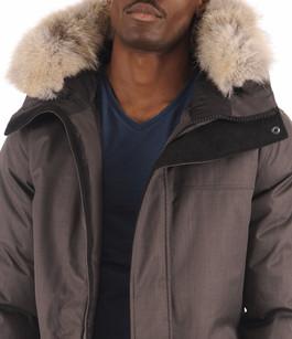 Parka Yves Stell Grey Homme Nobis