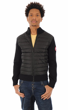Gilet Hybridge Knit noir