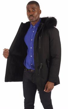 Parka Homme SETH-X Black