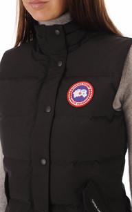 Gilet Freestyle Black Femme Canada Goose