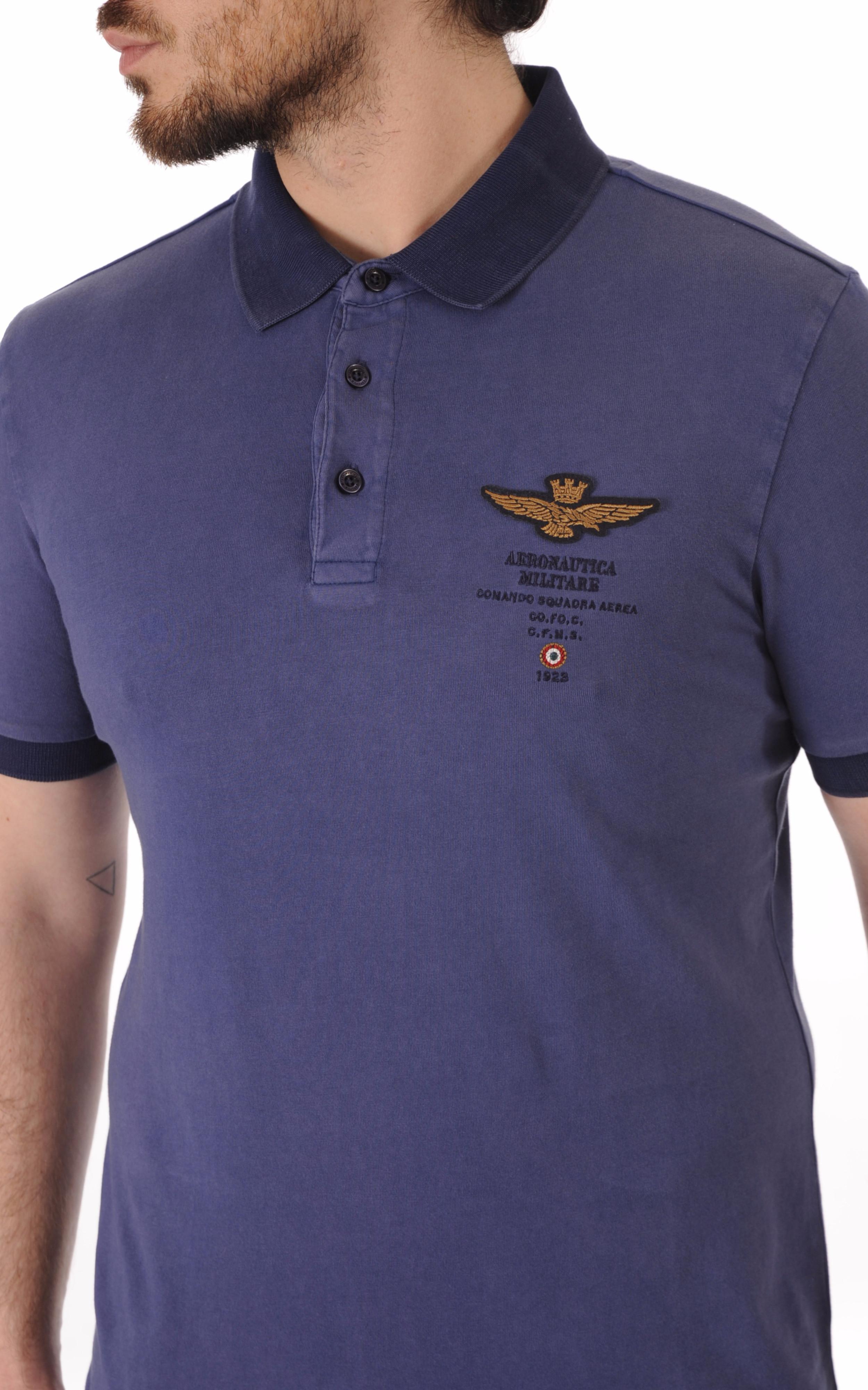 Polo Bleu Comando Squadra Aerea Aeronautica Militare