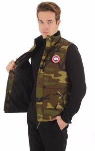 Gilet Garson Camouflage