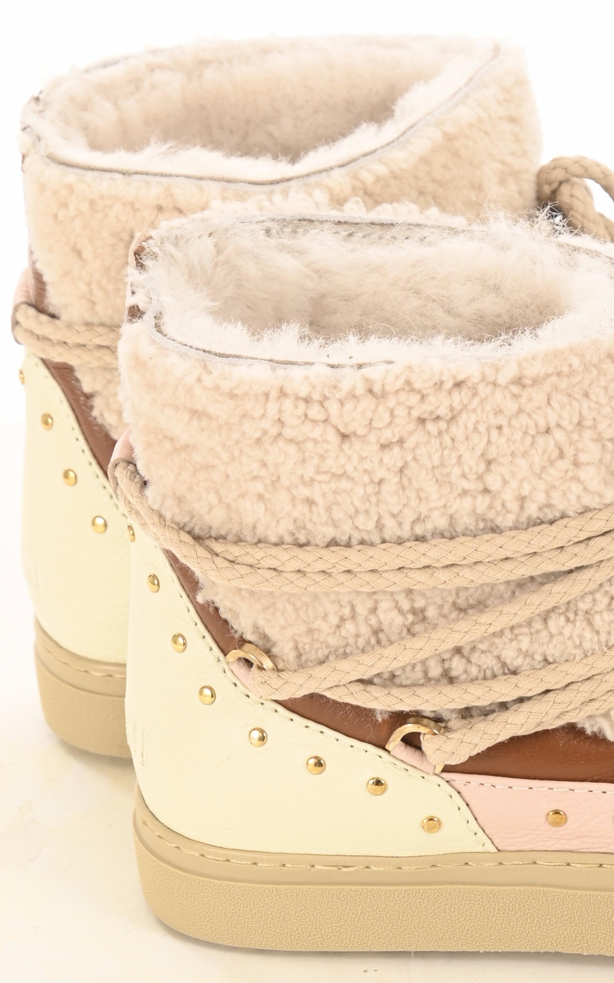 Boots Curly rock sand Inuikii