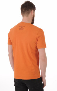 T-shirt Imprimé Aero Orange