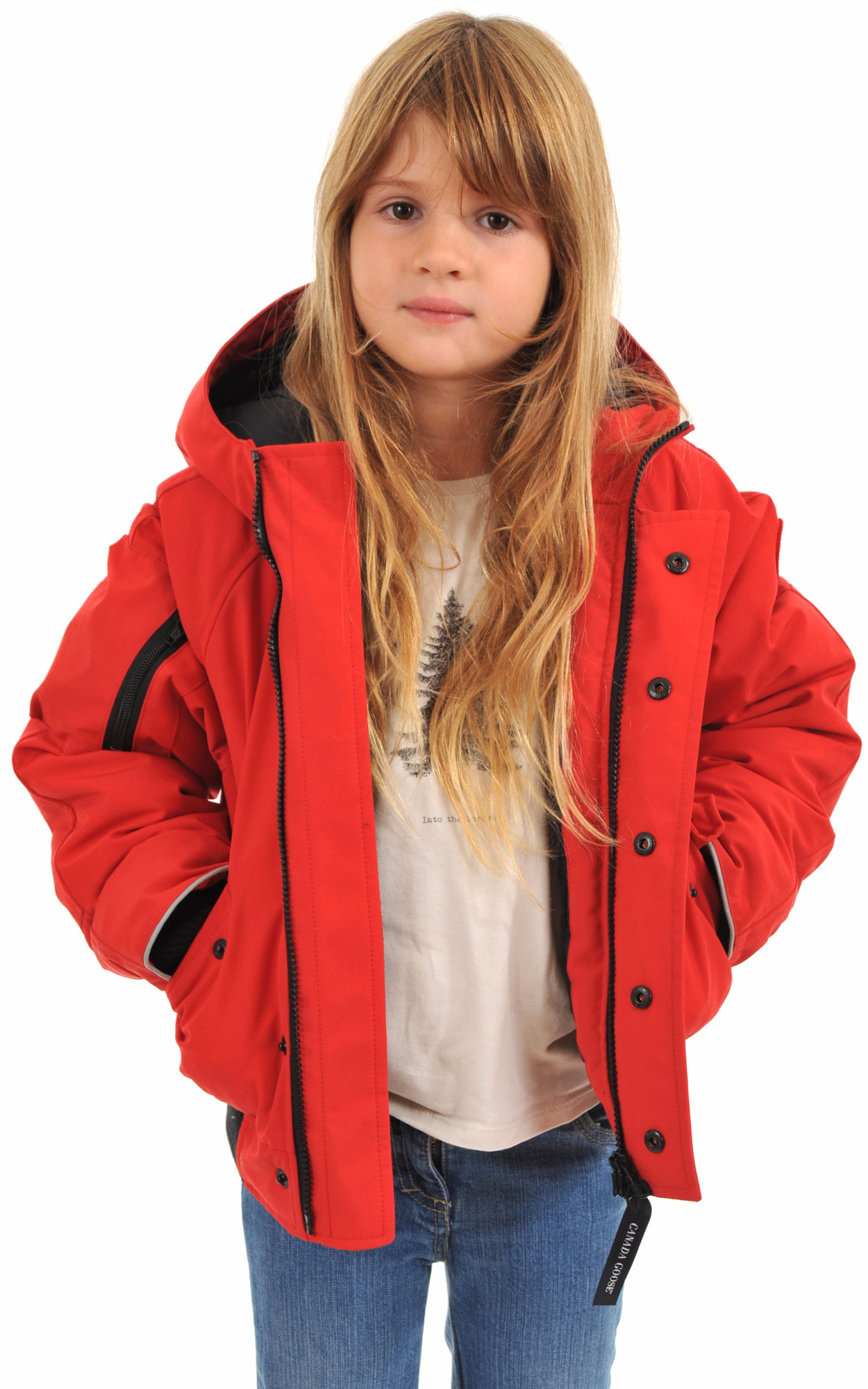 Doudoune Rundle Bomber Rouge1