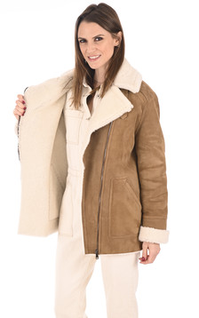 Veste Merinillo Coupe Loose camel