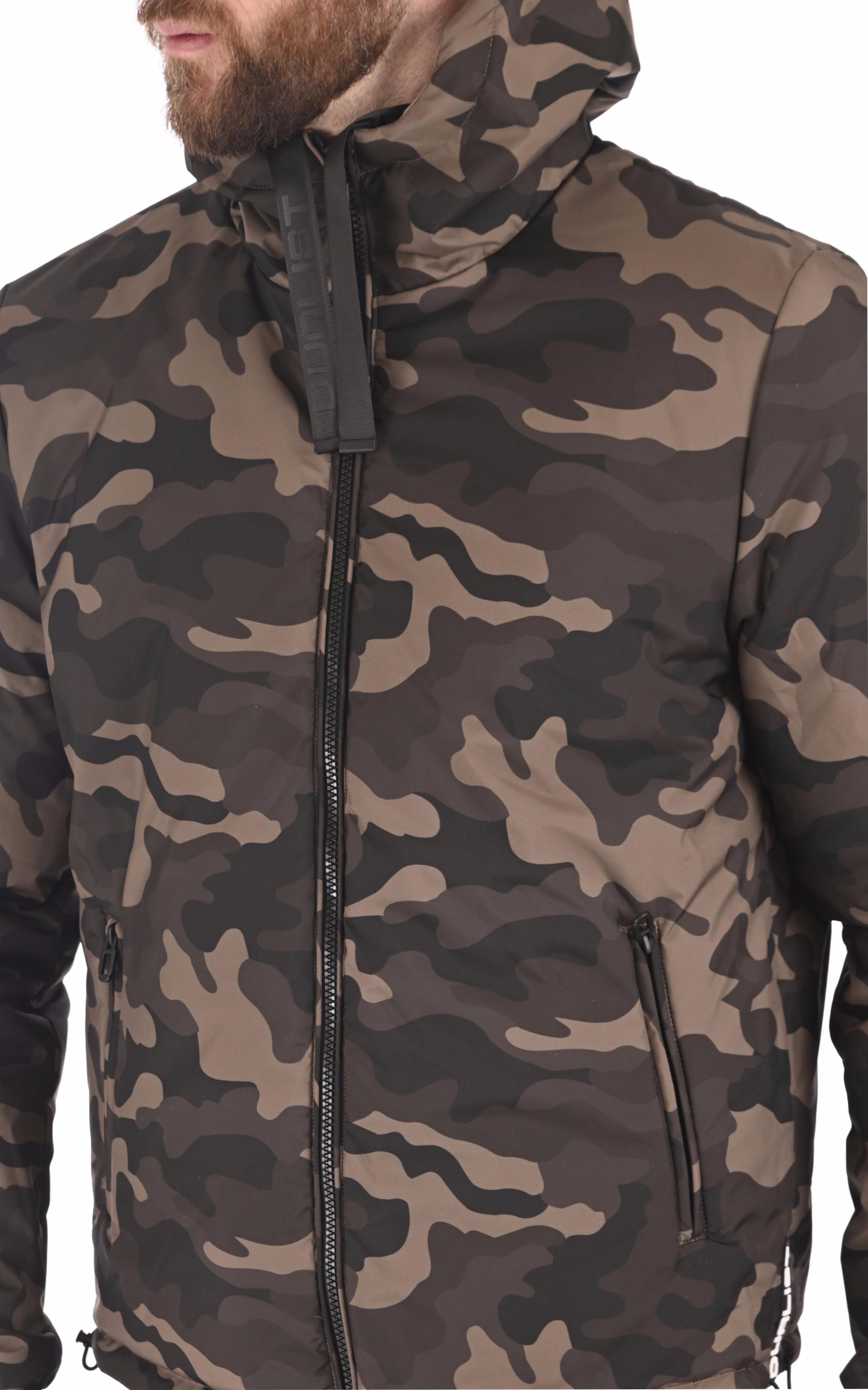 Blouson coupe vent Ben camouflage Dualist