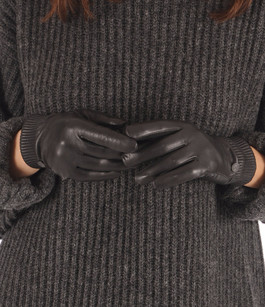 Gants Rib Luxe Noir Canada Goose