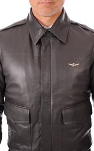 Blouson Aviateur Homme Gris Aeronautica Militare