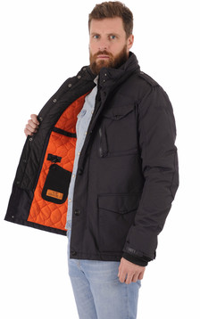 Parka multipoches Field marine